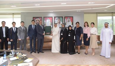 Uzbekistan Government delegation briefed on UAE experience in HR Development