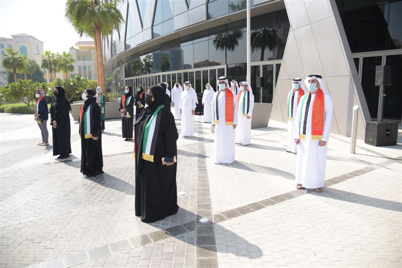 Dr. Abdulrahman Al-Awar: The UAE flag is a symbol of pride and national unity.