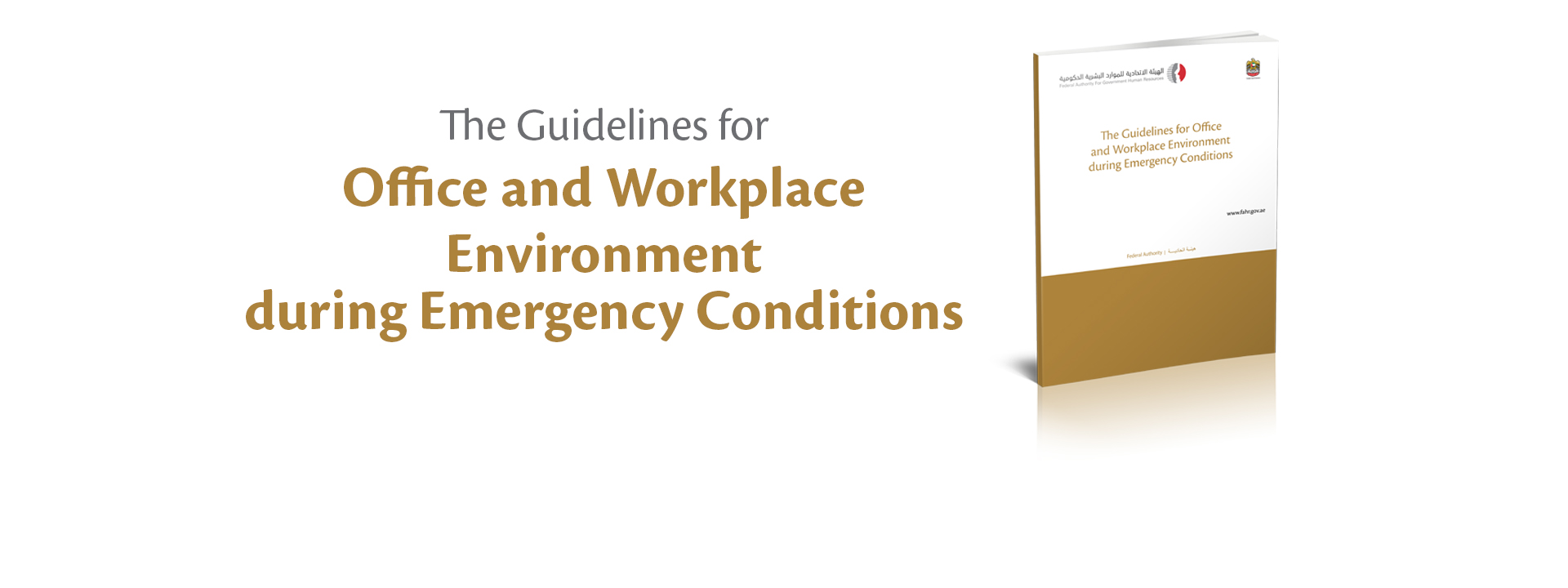 The Guidelines for Office and Workplace Environment during Emergency Conditions